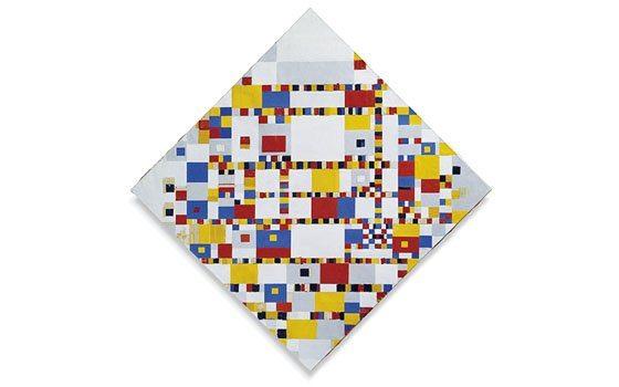 Mondrian, point à la ligne - 4
