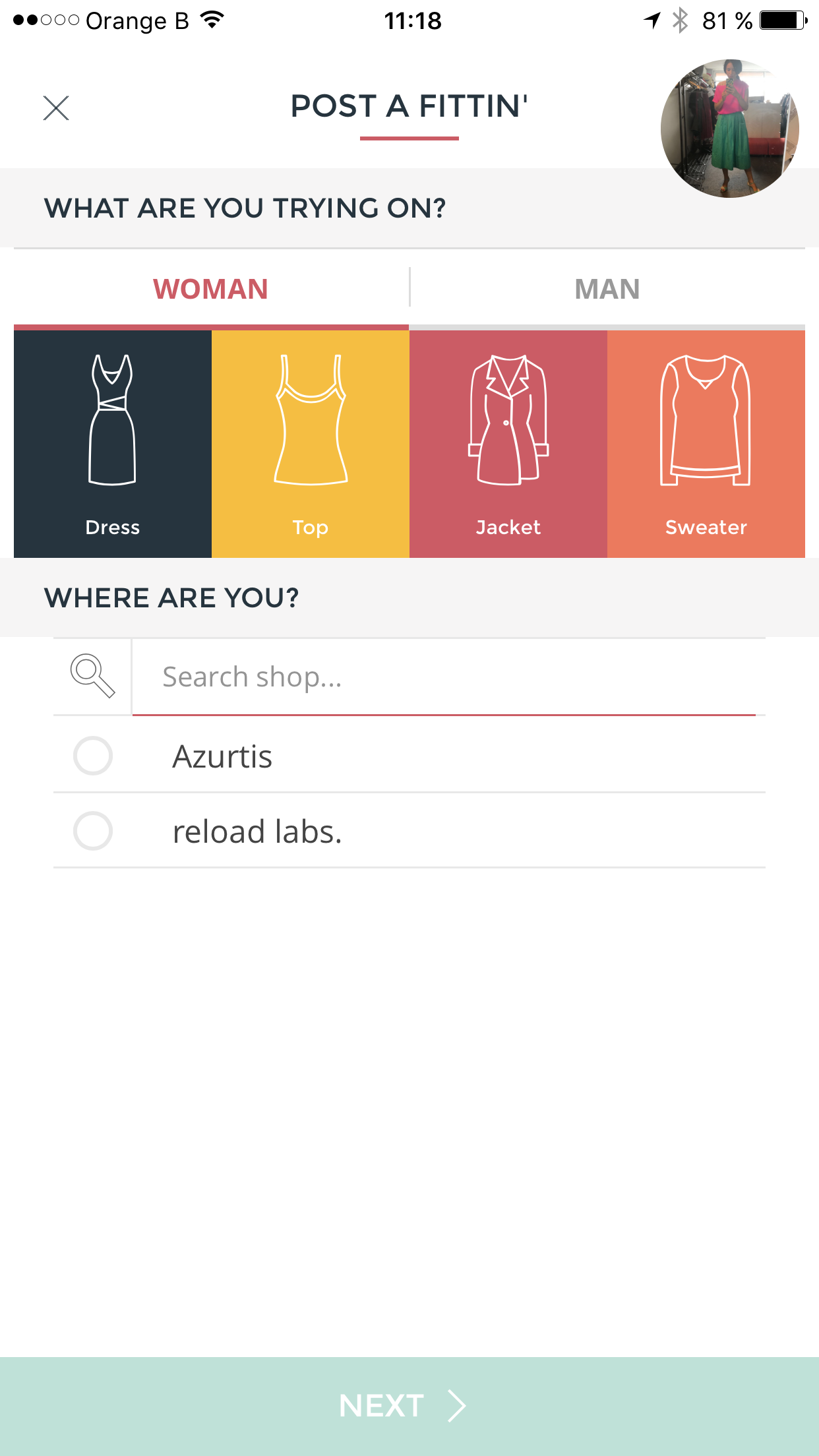 Fittin' Room: l'application qui vous dit ce qui vous va - 1