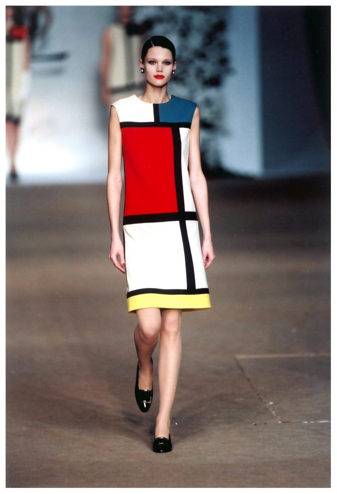 Mondrian, point à la ligne - 1