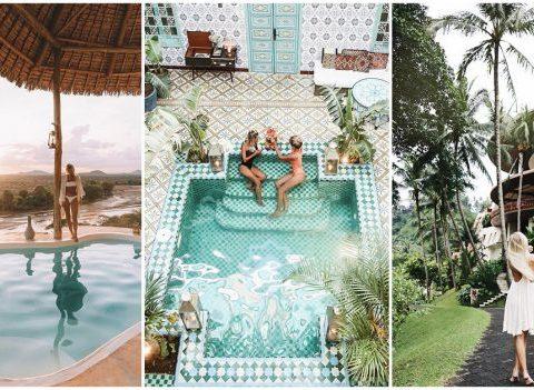 Les plus beaux hôtels repérés sur Instagram