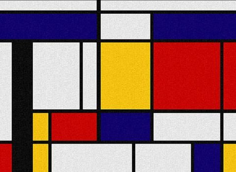 Mondrian, point à la ligne