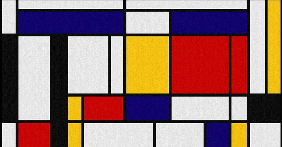 Mondrian, point à la ligne