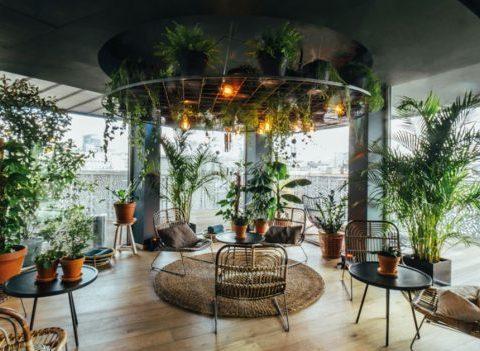 Là-Haut: le nouveau rooftop tropical indispensable à nos jeudis soirs