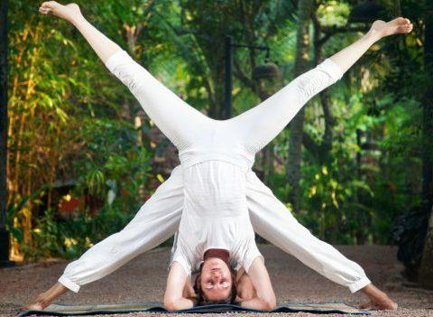 Parée pour le Yoga Day
