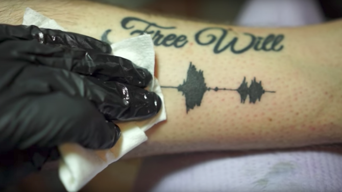 tatouage sonore