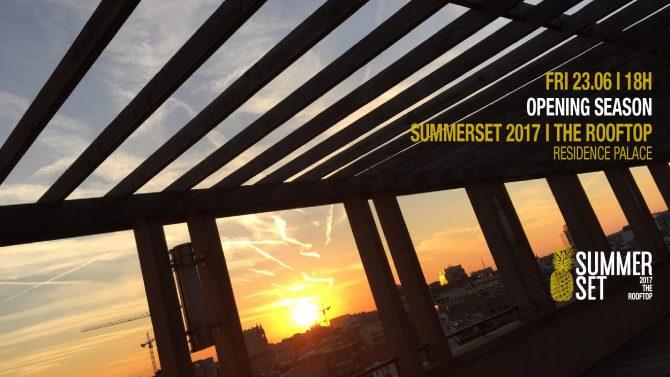 agenda du week-end : rooftop summer set