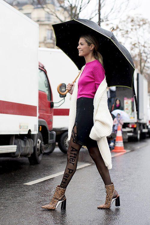 10 looks pour être sexy sous la pluie - 7