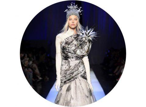 Paris Haute Couture : Jean-Paul Gaultier, ses reines des neiges
