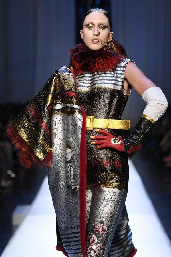 Paris Haute Couture : Jean-Paul Gaultier, ses reines des neiges - 7