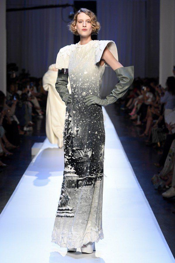 Paris Haute Couture : Jean-Paul Gaultier, ses reines des neiges - 5