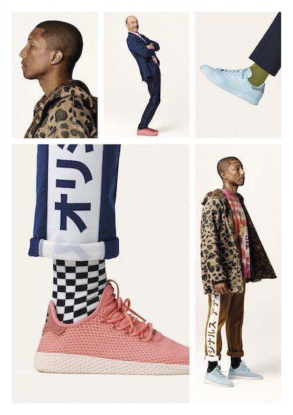 On veut : La collection pastel Adidas x Pharrell Williams - 1