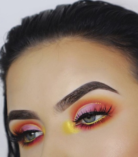 Tendance make-up: le look « Sunset eyes »