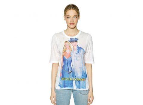 Le t-shirt Filles à Papa avec Britney et Justin
