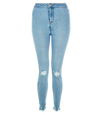 jean-skinny-hallie-bleu-déchiré-aux-genoux-et-à-ourlet-effilé