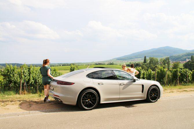 On a testé : rouler en Porsche Panamera 4S - 1