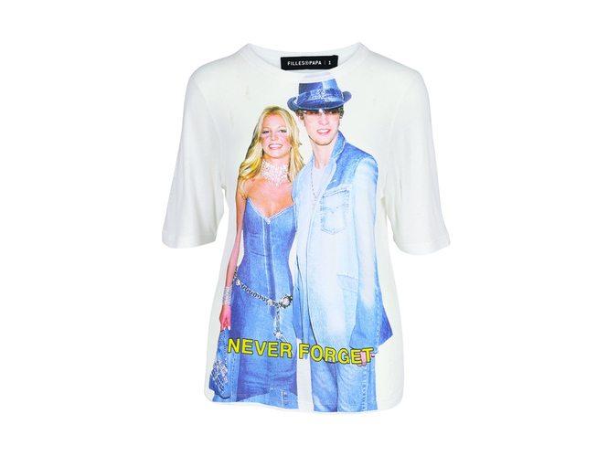 Le t-shirt Filles à Papa avec Britney et Justin - 2