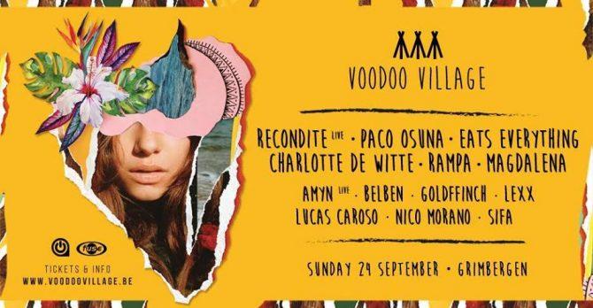 agenda du week-end : voodoo village festival