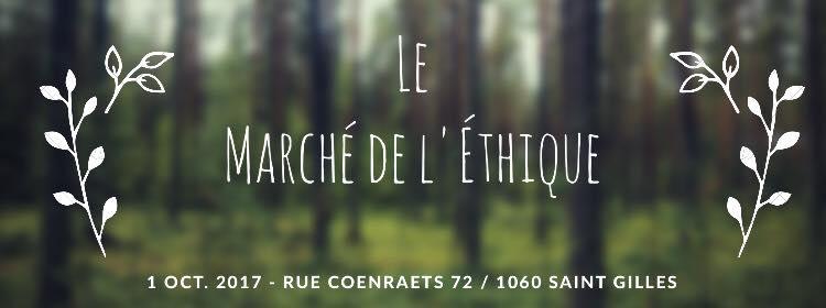 agenda du week-end : marché de l'éthique bruxelles