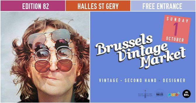 agenda du week-end : brussels vintage market