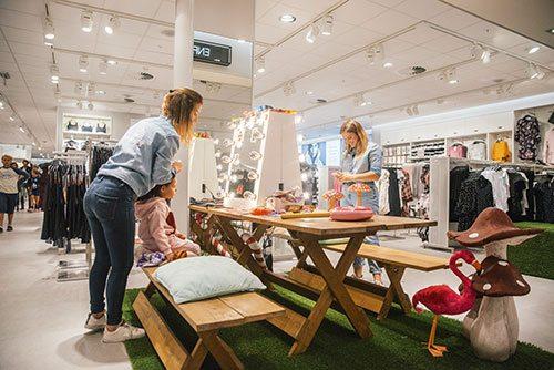 La réouverture d'H&M au Woluwé Shopping Center - 5