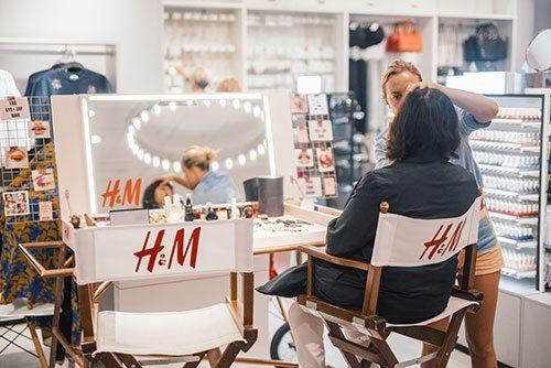 La réouverture d'H&M au Woluwé Shopping Center - 3