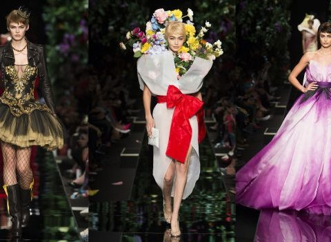 Les fashion weeks du spectacle et des grands shows : Moschino