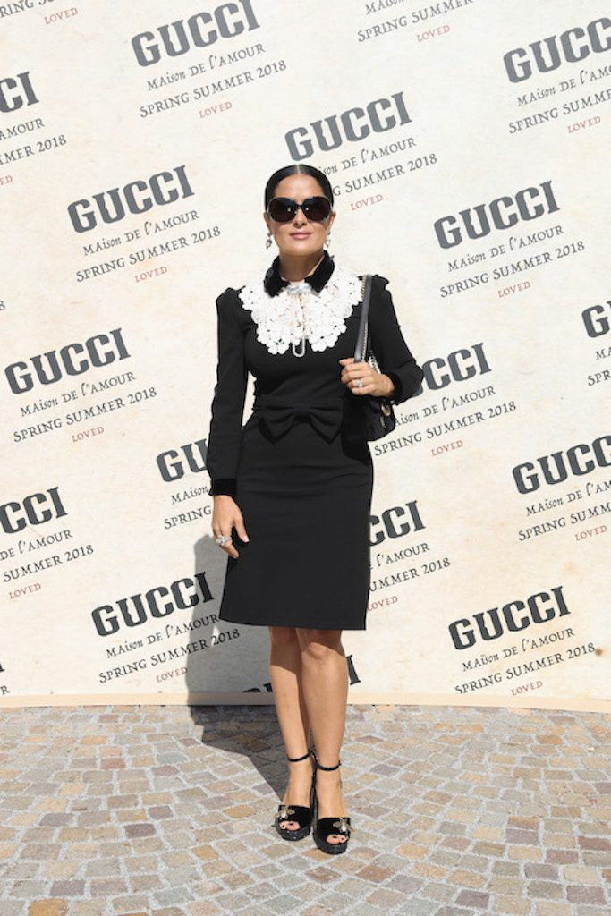Gucci – Arrivals – Milan Fashion Week Spring/Summer 2018