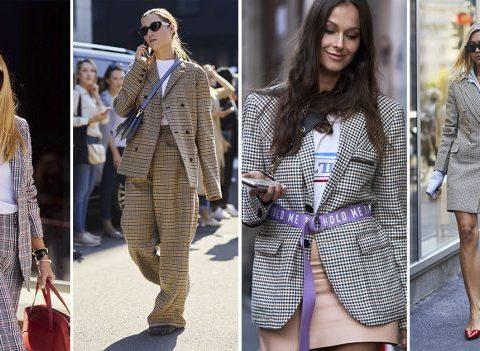 Streetstyle: comment porter les carreaux comme une Milanaise ?