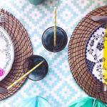 DIY assiettes vintage colorées