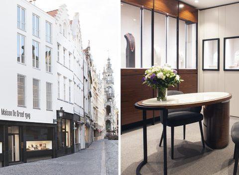 La Maison De Greef dévoile un nouvel espace pour les amoureux de belles montres
