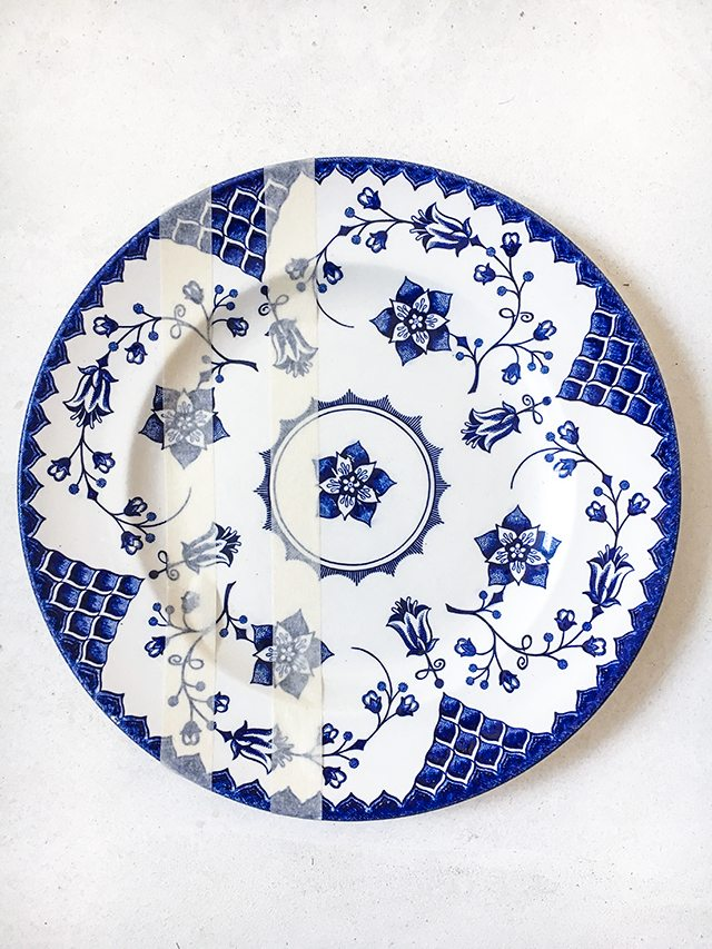 Le DIY du mercredi: les assiettes vintage colorées - 2