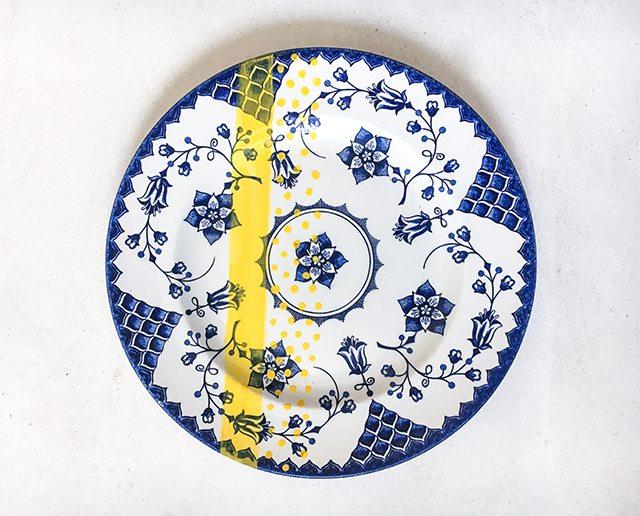 Le DIY du mercredi: les assiettes vintage colorées - 3
