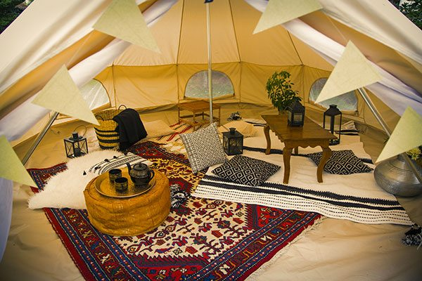 DIY: une tente berbère dans son jardin - 1