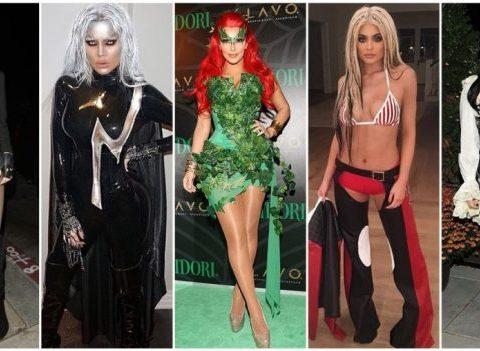 Les 20 meilleurs costumes d'Halloween des Kardashian