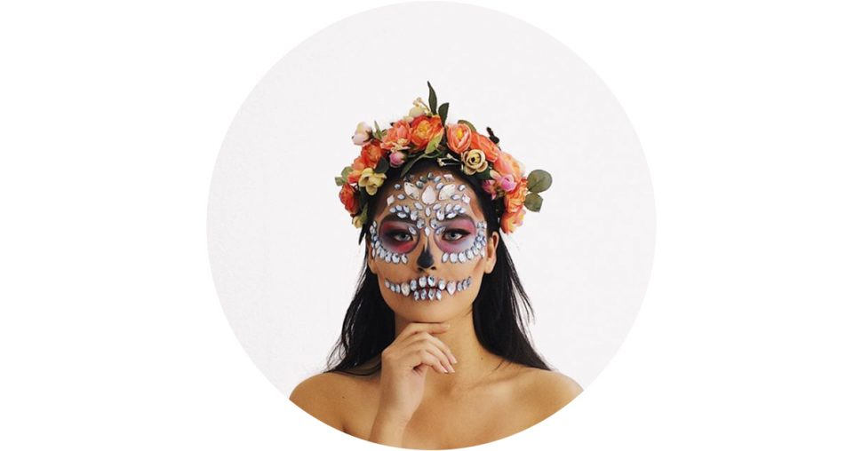 make-up d'halloween