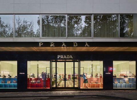 À quoi ressemble la boutique Prada à Bruxelles ?