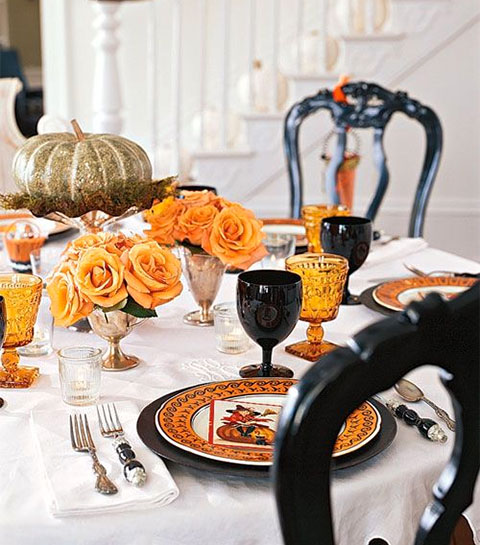 15 tables d'Halloween (vraiment chic)