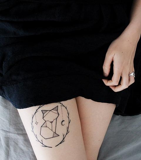 30 tatouages pour les fans d'animaux