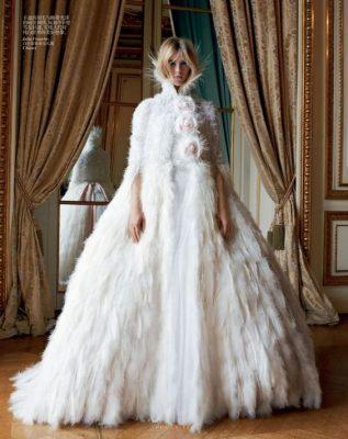 looks de mariée en hiver