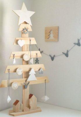 DIY : Comment faire un beau sapin en bois ? - 2