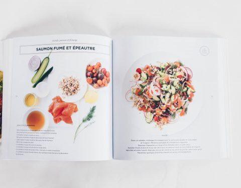 Salade de saumon fumé et épeautre