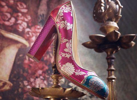 Christian Louboutin rend hommage à l'artisanat indien