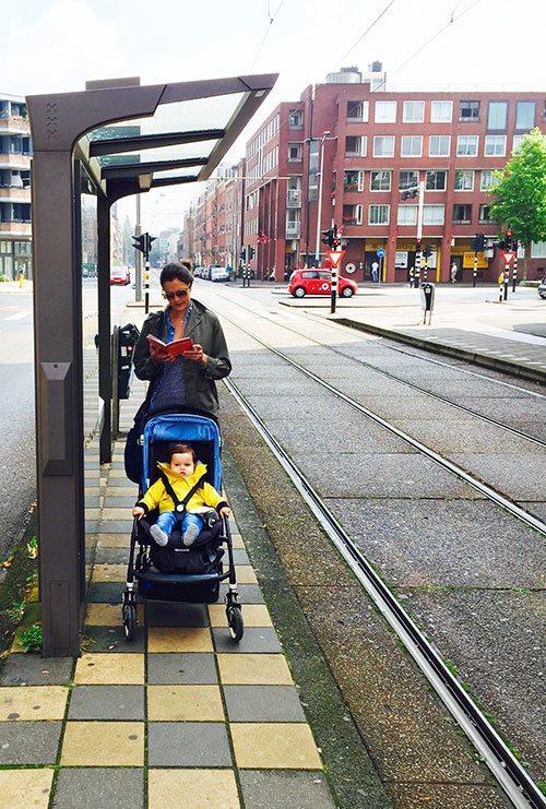 Les carnets de voyage de Céline: Amsterdam en poussette - 1