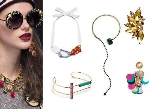 Bijoux extravagants: petits prix, effet garanti