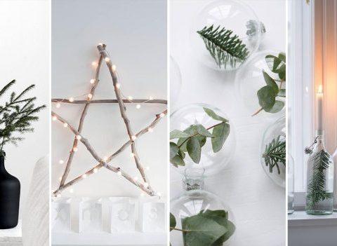 20 idées de déco minimaliste et chic pour Noël