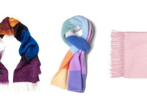 10 écharpes bien chaudes pour affronter l'hiver