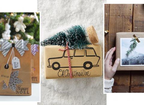 Pinterest : les 20 plus beaux emballages cadeaux de Noël