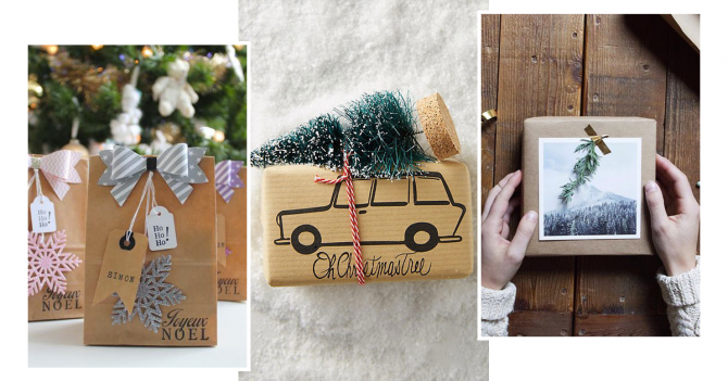 pinterest les 20 plus beaux emballages cadeaux de no l. Black Bedroom Furniture Sets. Home Design Ideas