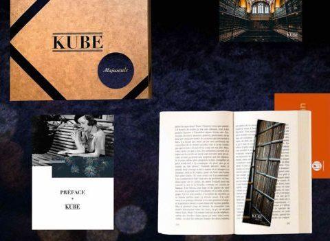 Kube Majuscule: un abonnement aux livres grands formats