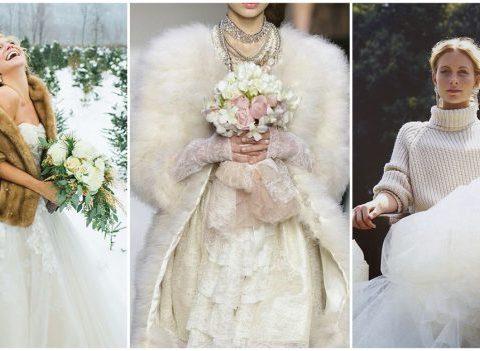 15 robes de mariées canons pour un mariage en hiver